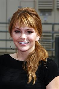 Aimee Teegarden Variety's 4th annual Power of Youth event at Paramount Studios on October 24, 2010