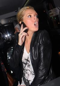 Aisleyne Wallace Anessis Spa launch on January 13, 2011