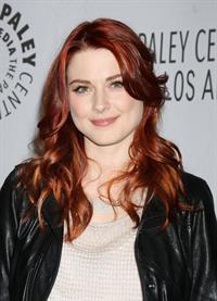 Alexandra Breckenridge Paleyfest honoring american horror story in Beverly Hills on February 3, 2012