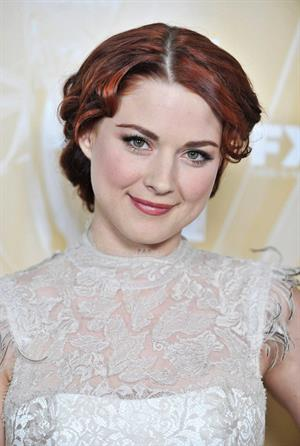 Alexandra Breckenridge attending the Fox Broadcasting, Twentieth Century Fox And FX 2011 Emmy Nomination Celebration, Sep 18, 2011