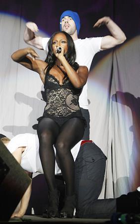 Alexandra Burke Jingle Bell Ball in Manchester on December 1, 2010