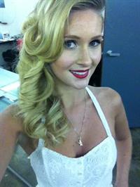 Lauren Volker taking a selfie