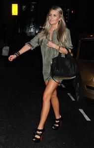 Alex Curran - Night in Liverpool - October 1, 2011