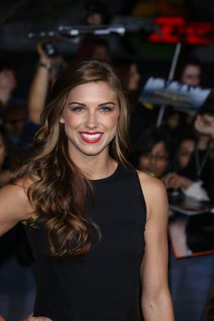 Alex Morgan video Breaking Dawn 2 premiere in LA 11/12/12