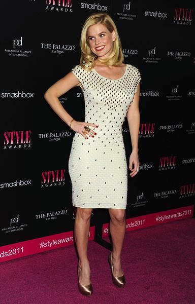 Alice Eve attending the Hollywood Style Awards at Smashbox West Hollywood on November 13, 2011