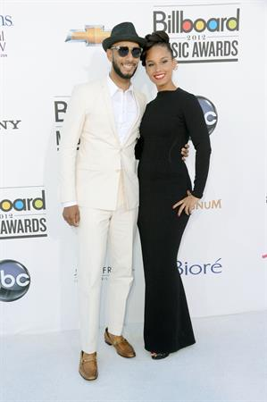 Alicia Keys attends the 2012 Billboard Music Awards in Las Vegas on May 20, 2012