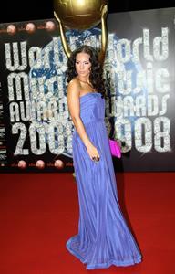 Alicia Keys attending the 20th World Music Awards