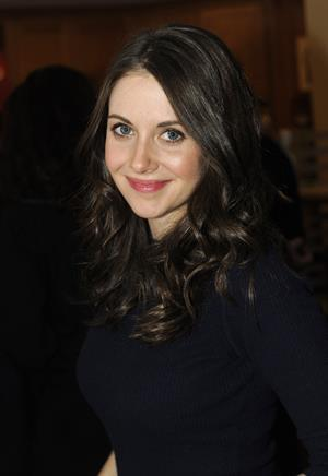 Alison Brie Fender Music lodge at Sundance Film Festival, January 19, 2013