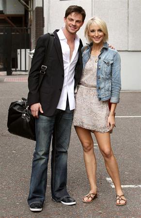 Ali Bastian at ITV Studios on July 29, 2010