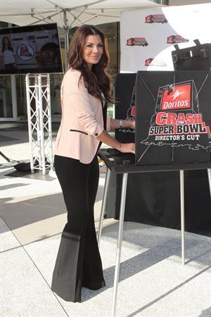 Ali Landry Doritos Crash The Super Bowl Event in Teas 1/4/13