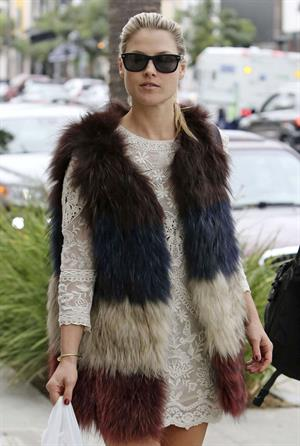 Ali Larter walking in Beverly Hills 11/12/13