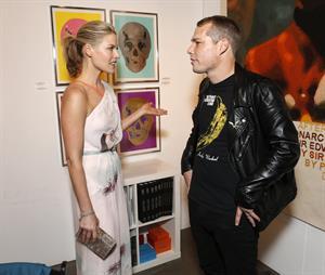 Ali Larter – LA Art Show opening 1/23/13