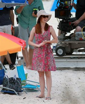 Alyson Hannigan on set American Reunion on July 23, 2011