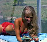 Connie Mason in a bikini