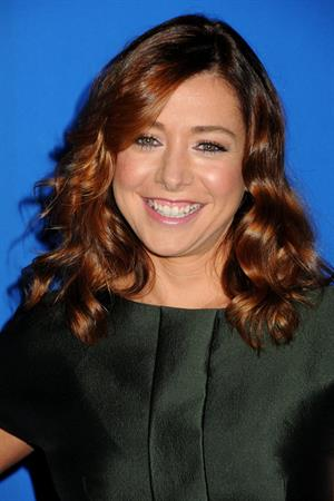 Alyson Hannigan CBS fall season premiere event at the colony on September 16, 2010