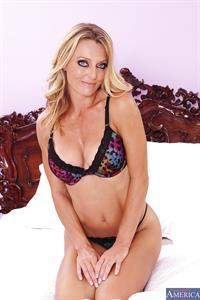Brenda James in lingerie