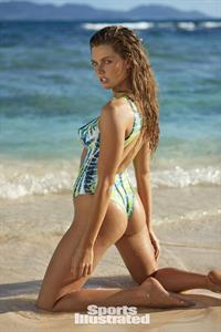 McKenna Berkley in Body Paint for Sports Illustrated Swimsuit Edition 2017