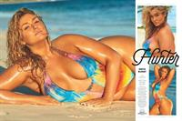 Hunter McGrady in Body Paint for Sports Illustrated Swimsuit Edition 2017