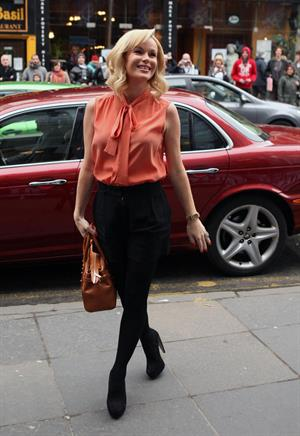 Amanda Holden at Britain's Got Talent auditions on February 11, 2012