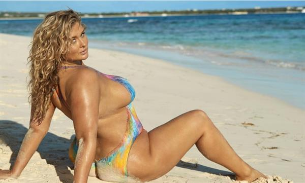 Hunter McGrady body paint Sports Illustrated 2017