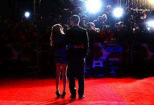 Amanda Seyfried In Time UK premiere in London on October 31, 2011