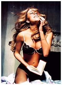 Mariah Carey in lingerie