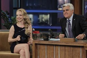 Amanda Seyfried on The Tonight Show with Jay Leno on May 11, 2010