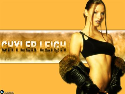 Chyler Leigh in a bikini