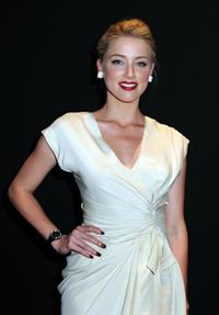 Amber Heard launch of Dior VIII in New York 08.06.11