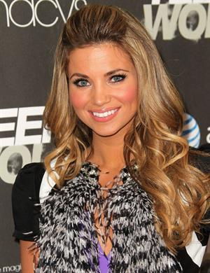 Amber Lancaster premiere of MTV's Teen Wolf at the Roosevelt Hotel on May 25, 2011