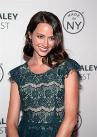 Amy Acker  Person of Interest  panel during 2013 PaleyFest: Made In New York on Oct. 3, 2013