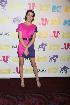 Amy Acker MTV Spring Break 2012 Day 1 at Palms Resort Casino in Las Vegas on March 20, 2012
