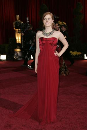Amy Adams attending the 81st Annual Academy Awards