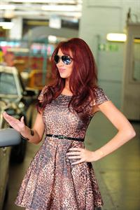Amy Childs ITV London studios Aug 3, 2011