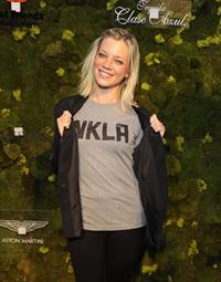 Amy Smart at the third annual Fluffball Animal Charity Event in Los Angeles on April 28, 2012