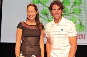 Ana Ivanovic at the Roland Garros Draw on May 20, 2011