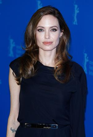 Angelina Jolie in the Land of Blood and Honey premiere at the 62nd Berlinale 11.02.12