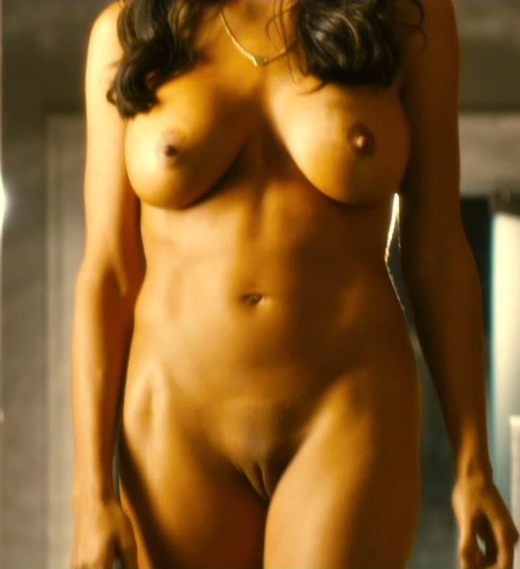 Rosario Dawson - pussy and nipples