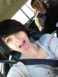 Paris Jackson taking a selfie