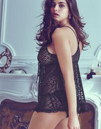 Tamara Lazic in lingerie