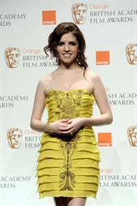 Anna Kendrick attends BAFTA Awards 2010 February 21, 2010