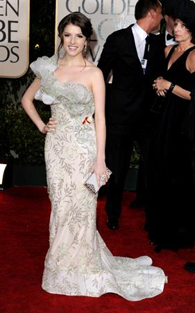 Anna Kendrick 67th Annual Golden Globe Awards arrivals Jan 17, 2010