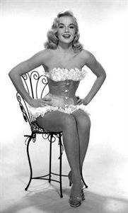 Leslie Parrish in lingerie