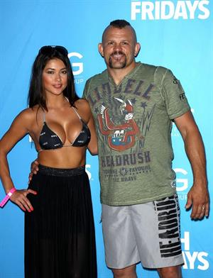 Arianny Celeste UFC Fight Week Party in Las Vegas on July 5, 2012
