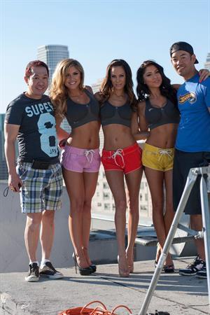 Arianny Celeste, Brittney Palmer and Kenda Perez Inside Fitness photoshoot July 2012