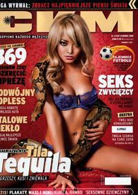 Tila Tequila in lingerie