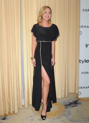 Arielle Kebbel attends Forevermark and InStyles A Promise of Beauty and Brilliance Golden Globe Awards Event on January 10, 2012