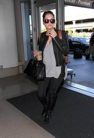 Ashley Benson – LAX airport arrival in LA 11/14/13