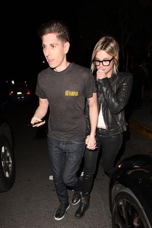 Ashley Benson at Bootsy Bellows in West Hollywood 12/28/12