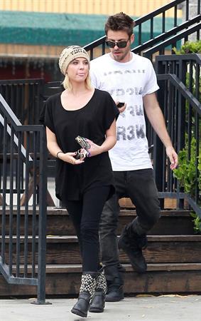 Ashley Benson at Carneys Studio City on April 24, 2012